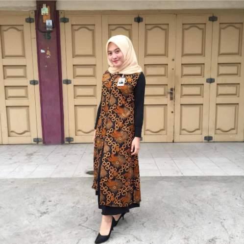 55 Model Seragam Batik Kantor Wanita Paling Di Cari Hassa Batik