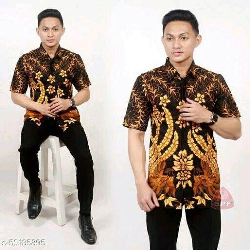 Model Baju Batik Modern Pria